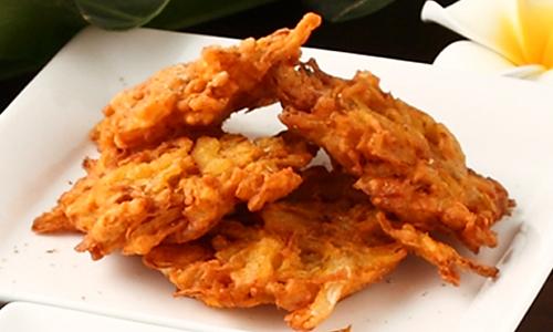 オニオンパコラ(4pc) Onion Pakoda